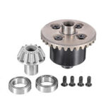 New              Wltoys 12423 12428 1/12 Upgraded Rear Differential Kit RC Car Vehicles Model Spare Parts