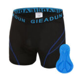 New              Outdoor Breathable Shock Absorption Riding Bike Shorts With Thickened Silicone Sponge Cushion