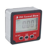 New              IP65 Waterproof  0.1° 360 Degree Large LCD Digital Protractor Inclinometer Magnetic Electronic Angle Level Box