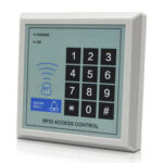 New              RFID Access Control System Device Machine Security 125Khz RFID Proximity Entry Door Lock Card Reader Door Lock System