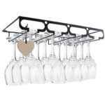 New              Glass Cup Holder Display Drying Hanger Rack Storage Shelf Display Home & Office