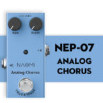 New              NAOMI NEP Series Guitar Effect Pedal Analog Chorus True Bypass For Electric / Acoustic Electric Guitar