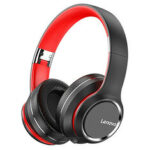 New              Lenovo HD200 bluetooth Earphone Over-ear Foldable Computer Wireless Headphones Noise Cancellation HIFI Stereo Gaming Headset for PC PS4 Xbox