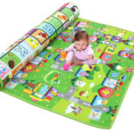New              1.2/1.5/2×1.8m Waterproof Non-slip Baby Kids Floor Play Mat Children Game Blanket Crawling Carpet Cushion Pad