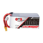 New              Gaoneng GNB 15.2V 1100mAh 50C 4S HV Lipo Battery With XT60/XT30 Plug for RC Racing Drone