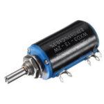 New              10pcs WXD3-13-2W Precision Potentiometer 2.2KΩ 2.2K Ohm Wirewound Multi-Turn Potentiometer