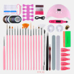 New              Manicure Gel Nail Polish Kit Electric Nail Drill Phototherapy Machine Set Painted Pen Manicure Set
