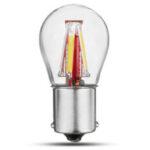 New              3W 1156 BA15S P21W 4 Filament COB LED Bulb Turn Signal Light Reverse Lamp 450LM For 12-24V Car Vehicle