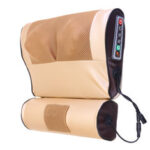 New              Double 8D Electric Neck Massager Infrared Heating Jade Physiotherapy PU Cervical Spine Massage Pillow