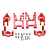 New              Wltoys 12427 12428 A B 12423 Upgrade Parts RC Car Parts Arm C Seat Steering Cup Vehicle Model Parts Red