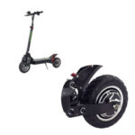 New              LANGFEITE L8S 10 inch Folding Electric Scooter Tire Solid Shock Absorber Replacement Front/Rear Hub Tyre