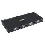 New              AIMOS HD KVM Switch Box 18Gbps 4K 60Hz Ultra HD 4 Input 1 Output USB Hub KVM Switcher Splitter for PC PS4 Sharing Printer Keyboard Mouse