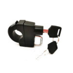 "New              Motorcycle Bike Bicycle Helmet Lock Anti-theft Security Universal 7/8"" 22mm Tube"