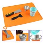 New              YMSON Light Curing Filter Finishing Kit Funnel Spade Silicone Pad Cleaning Kit for UV resin 3D Printers