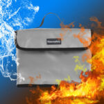 New              Nawsafely Waterproof Fireproof Explosion-proof Lipo Battery Safety Bag 260x180x130mm for RC Model Battery