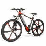New              SAMEBIKE SH26 8Ah 36V 350W Electric Bike 26 in Alloy Integrated Wheel 30km/h Top Speed 70km Mileage 150kg Max Load E-bike Mountain Bike
