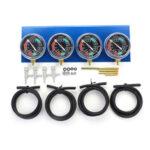 New              Motorcycle Carb Carburettor Fuel Vacuum Balancer 4 Cylinder Gauges Tool Kit