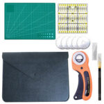 New              Clothing Sewing Tools Kit Hand Cutting KniIfe Set Rotary Cutter Patchwork Cloth