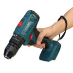 New              3 In 1 Cordless Hammer Drill Rechargeable Electric Screwdriver  Impact Drill 10mm for 18V Makita Battery 4000rpm