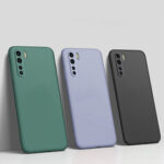New              Bakeey for Xiaomi Mi Note 10 Lite Case Smooth Shockproof Soft Liquid Silicone Rubber Back Cover Protective Case