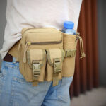 New              Men Multifunction Tactical Belt Bag Casual Sling Crossbody Bag Waist Bag