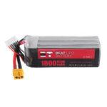 New              BT BEAT 22.2V 1800mAh 65C 6S Lipo Battery XT60 Plug for RC Racing Drone