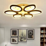 New              Modern Circle Ring Ceiling Light Lamp Acrylic Stepless Indoor 780 LED Chandelier