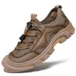 New              Men Outdoor Anti-collision Toe Comfy Non Slip Casual Hiking Shoes