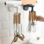 New              Kitchen Utensils Rack Free Punching Wall-Mounted Spatula Spoon Storage Rack Kitchen Supplies Storage Rack