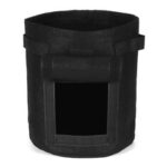 New              2Pcs 7 Gallon 25L Black Potato Planting Bag Pot Planter Vegetable Container Growing Garden