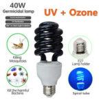 New              AC110V E27 40W UV Germicidal Disinfection Sterilization Light Ozone Ultraviolet Lamp Bulb