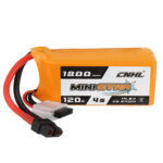 New              CNHL MINISTAR 14.8V 1800mAh 120C 4S Lipo Battery XT60 Plug for RC Racing Drone