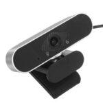 New              USB 2.0 Webcam Auto Focusing Web Camera Cam & Microphone For PC Laptop Desktop