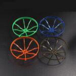 New              4 PCS HSKRC 3 Inch / 3.1 Inch Propeller Protective Guard for 1104 1206 1406 1507 Brushless Motor 9x9mm / 12x12mm CX3 CineQueen Cinestyle 4K RC Drone