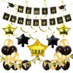New              42Pcs/Set Graduation Banner Party Decoration Grad Photo Booth Balloon Wall Decor