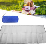 New              Double-sided Aluminum Film Picnic Mat Foldable Sleeping Pad Waterproof Aluminum Foil For Outdoor Picnic Camping