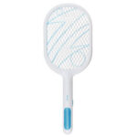 New              2000MAH Electric Mosquito Swatter Rechargeable Household 3 Layer ABS Safety Grid Electric Bug Zapper Portable Mosquito Artifact