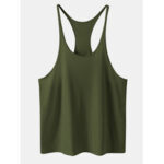 New              Mens Sport Solid Color Sleeveless Workout Tank Tops
