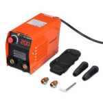 New              Minleaf ZX7-200 200A Mini Electric Welding Machine Portable Digital Display IGBT DC Inverter ARC MMA Stick Welder