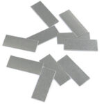 New              100Pcs Pure Nickel 99.96% Low Resistance Battery Strip Tabs Mat for Welding 0.1x4x10mm