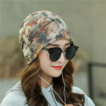 New              Print Retro Floral Beanie Cap Chemotherapy Hat