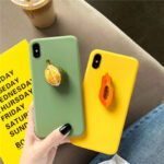 New              Fashion 3D Candy Color Fruit Pattern Soft TPU Protective Case for iPhone X / XS / XR / XS Max / 7 / 8 / 7 Plus / 8 Plus / 6 / 6S / 6S Plus / 6 Plus