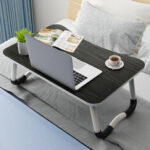 New              60x40cm Enlarge Foldable Telecommuting Computer Laptop Desk Table TV Bed Computer Mackbook Desktop Holder