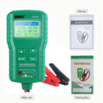 New              12V Digital Car Battery Tester AH CCA Voltage Current Battery Load Analyzer Multifunction Diagnostic Car Repair Tool