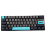 New              MechZone 109 Keys Graphite Blue Keycap Set OEM Profile PBT Keycaps for 61/68/87/104/108 Keys Mechanical Keyboards
