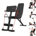 New              Adjustable Sit-ups Weight Bench Fitness Abdominal Exercise Strength Adjustable Bench Home Training