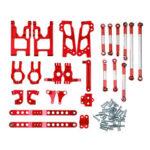 New              Feiyue FY-03 06 WLtoys 12428 Desert Vendor Kit Full Upgrade Accessories 1/12 Rc Car Parts Red