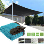New              95% UV Sun Shade Sail Net Outdoor Garden Awning Canopy Greenhouse Cover