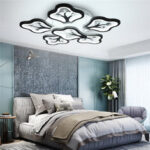 New              720LED Post-Modern Ceiling Lamp Remote Control Living Room Bedroom Kitchen