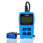 New              TVIRD Car OBD2 Scanner OBD Diagnostic Tool Engine Fault Code Reader Battery Tester with LCD Display Screen